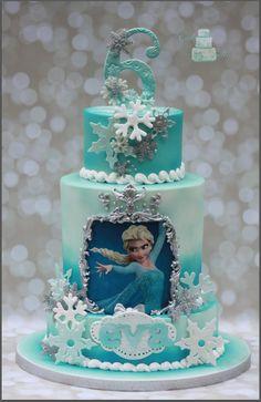 Frozen Birthday Cake! - Frozen Birthday Cake.