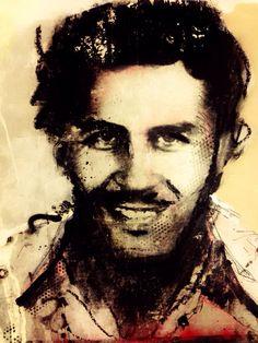 Leader of the Medellinkartel Pablo Escobar