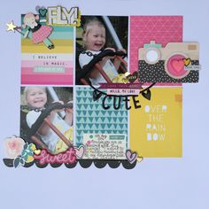Jen Naulls for Hey Little Magpie Crate Paper Cute Girl                                                                                                                                                                                 More