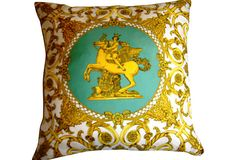 Hermes Scarf Pillow