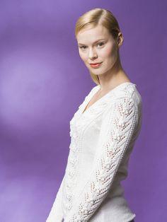 Naisen pitsineulepusero Novita Miami | Novita knits