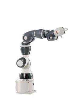 ABB IRB 14050 Single-arm YuMi Mechanical Arm, Robot Arm, Robotics, Hair Removal, Arms, Technology, Products, Sculpture, Tech