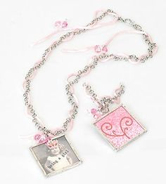 Pink is for Girls necklace
