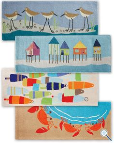 Beach cottage rugs