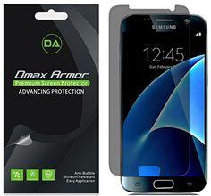[2-Pack] Dmax Armor- Samsung Galaxy S7 Privacy Anti-Spy Screen Protector Shield - Lifetime Replacements Warranty- Retail Packaging #Pack] #Dmax #Armor #Samsung #Galaxy #Privacy #Anti #Screen #Protector #Shield #Lifetime #Replacements #Warranty #Retail #Packaging