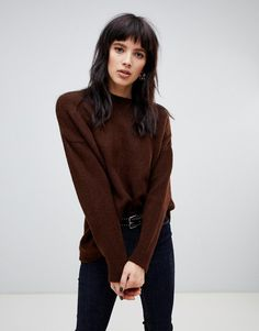 Shop the latest Stradivarius ribbed collar knitted sweater trends with ASOS! Free delivery and returns (Ts&Cs apply), order today! Mullet Hairstyle, Hair Again, Grunge Hair, Hair Journey, Hair Today, Hairstyles With Bangs, Hair Looks, Hair Trends, Hair Lengths