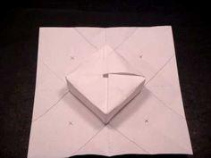 Paper box instructions. Write something fabulous inside  & make the box the gift.
