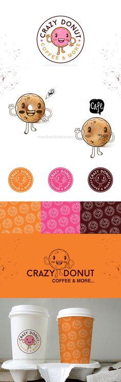 Crazy Donut - Portfolio www.One-Giraphe.com on Behance