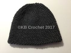 Husband Hat- an extra large, extra warm Crochet hat. Free Pattern!