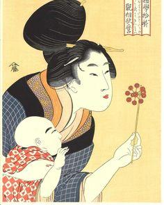 Mujer soplando un molinillo para su hijo de Kitagawa Utamaro https://www.tokaido.es/epages/82923502.mobile/es_ES/?ObjectPath=%2FShops%2F82923502%2FProducts%2F1240&utm_campaign=crowdfire&utm_content=crowdfire&utm_medium=social&utm_source=pinterest