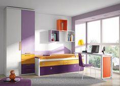 Habitación infantil ideal para espacios reducidos