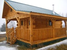 AMISH CRAFTED LOG CABINS