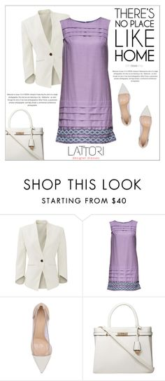 """""""LATTORI dress"""" by water-polo ❤ liked on Polyvore featuring Slate & Willow, Lattori, Gianvito Rossi, Dorothy Perkins, polyvoreeditorial and lattori"""