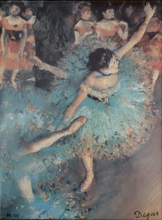 With a new exhibition on the work of French artist Edgar Degas opening soon at the Museum of Modern Art in New York, Harper's Bazaar commissioned photograp Edgar Degas, Claude Joseph Vernet, Degas Dancers, Degas Paintings, Ballet Painting, Misty Copeland, Henri De Toulouse Lautrec, Marc Chagall, Museum Of Modern Art
