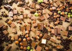 #Chocolate and #hazelnut wall mural for your #homedecor #art #artforsale #wallmurals #interiordecor #interiordecorideas #interiordecortips #homedesign #decor #sweets #cake #pastry #chocolates #coffee