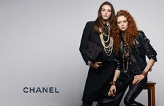 After debuting its pre-fall 2017 Paris Cosmopolite collection at the Ritz Paris in December, Chanel has unveiled the transitional season's advertising campaign. Compared to the runway show, the campaign goes minimal chic with images photographed by Karl Lagerfeld against a gray studio backdrop. Related: Cara Delevingne Looks Tomboy Chic in Chanel 'Gabrielle' Ad Models Vittoria …