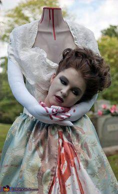 Headless Marie Antoinette - Homemade costumes for women