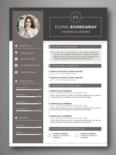 Your resume is one of your best marketing tools. Word Cv, Cv Words, Resume Words, Cv Template Word, Resume Design Template, Resume Templates, Curriculum Template, Cv Curriculum Vitae, Design Curriculum