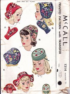 A dutch Cap just like Irene Castle wore! Love the pillbox hat.