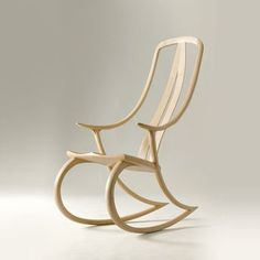 David Haig Rocking Chair English Sycamore