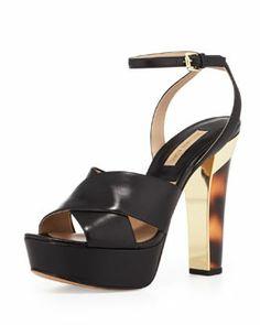 X201R Michael Kors  Shayden Platform Sandal