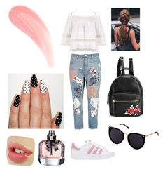 """Untitled #9"" by delianita on Polyvore featuring Boohoo, Kirei and adidas Originals"