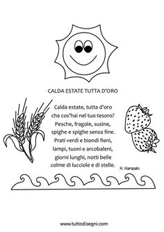 You searched for estate - Tutto Disegni Diy And Crafts, Snoopy, Education, School, Summer, Kids, Fictional Characters, Mamma, Montessori
