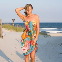 963104db817c6 Multi Color Beach Sarong Cover Up s Remarkable and intriguing beach wear  sarong smoke screens. wrap