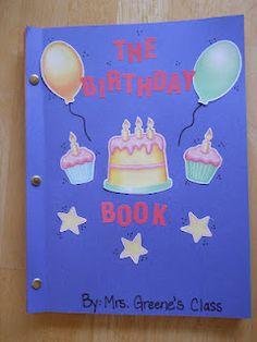 Mrs. Greene's Kindergarten Korner: Publishing Class Books