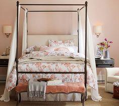 Antonia Canopy Bed #potterybarn