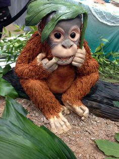 Orangutan theme cake