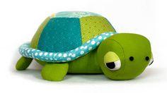 Nähanleitung und Schnittmuster Schildkröte stofftier - Nähanleitungen bei makerist sofort runterladen