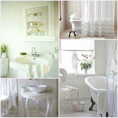 Beach Cottage Bathrooms | Beach Cottage Decor} Coastal Bath Design  Inspiration | Beach House .