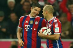 The duo that downed BVB in der klassiker on 1 Nov 2014