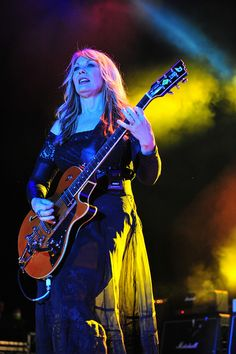 Nancy Wilson of HEART. #heart #rockbands #guitarists http://www.pinterest.com/TheHitman14/musician-female-faves/
