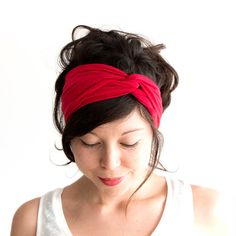 Hey, I found this really awesome Etsy listing at http://www.etsy.com/listing/128916447/turban-headband-tomato-red