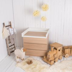 Changing unit for IKEA Malm dresser NEW White by PuckDaddy88