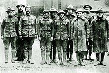 American prisoners of war in Germany in 1917