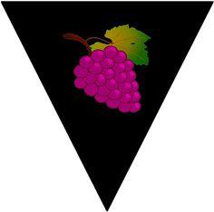 Juicy grapes.