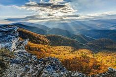North Fork Mountain in West Virginia by Bob Stough