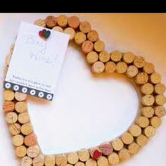 "In this edition of ""DIY Holiday Gifts,"" I'm going to show you how to turn your old wine bottle corks into a cute and functional cork-board. You can give your wine cork-board away as a gift, or keep. Wine Craft, Wine Cork Crafts, Bottle Crafts, Cute Crafts, Crafts To Do, Arts And Crafts, Desk Crafts, Cork Wall, Cork Frame"