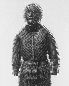Siberian Bear Hunting armour, 1880, from SHOWstudio's Digital Art Director @jonemmony.  The SHOWstudio team will be posting images they find interesting and inspiring each week.
