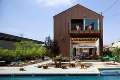 Wolfe Residence by Ehrlich Architects