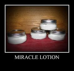 Miracle hand lotion