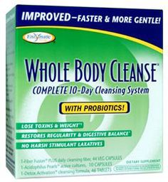 The Whole Body Cleanse System is made by Enzymatic Therapy. It is a safe and effective 2 week program that was designed to purge your body of various toxins. To find out more about this great product visit us at EarthTurns.com.