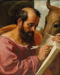 Luke The Evangelist, Jacob Jordaens, Religious Pictures, Dutch Painters, Holy Family, Magazine Art, Art Market, Oil On Canvas, Catholic