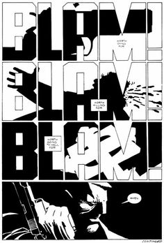Sin City, by Frank Miller.