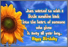 Beautiful birthday quote!
