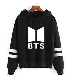 Harajuku KLV Bts Striped Hoodies Sweatshirts for Girls Twice Bts Hoodies Fake Love Kpop Clothes Long Sleeve Hooded Pullover Tops-cigauy Bts Hoodie, Hoodie Sweatshirts, Hoody Kpop, Jhope, Namjoon, Jimin, Jung Kook, K Pop, Merchandise Shop