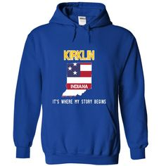 (Tshirt Nice Gift) KIRKLIN Its where my story begins Shirt design 2016 Hoodies, Funny Tee Shirts